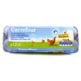 Carrefour oeufs plein air (Mx12) 1 PCE