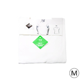 Lot de 2 t-shirt encolure V bio M blanc
