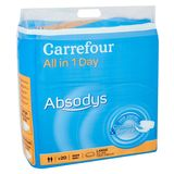 Carrefour Absodys All in 1 Day Comfort & Secure Large x 20