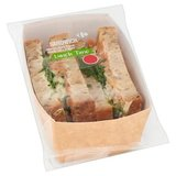 Carrefour Lunch Time Sandwich Saumon Fumé & Épinards 215 g