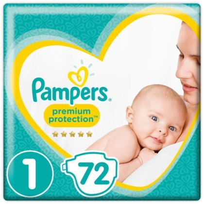Pampers Premium Protection Taille 1 2 5 Kg 72 Langes Carrefour Site