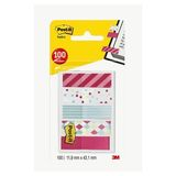 Post-it® Index Dispenser Candy 20 Tabs 11,9 x 43,2mm