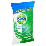Dettol Power & Fresh Lingettes Multi-Usages Original Maxi Hygiene Pack x80 Pièces
