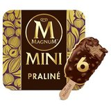 Magnum Ola Mini Ijs Multipack Praline 6 x 55 ml
