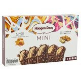 Häagen-Dazs Mini Salted Caramel - Macadamia Nut Brittle Ministicks MPK 5x40ml