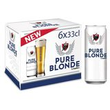 Jupiler Pure Blonde Blikken 6 x 33 cl