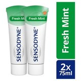 Sensodyne Fresh Mint Dentifrice Quotidien pour Dents Sensibles Duo Pack 2 x 75 ml