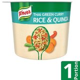 Knorr Instantanée Snack Thai Green Curry Rice & Quinoa 68 g