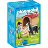 Playmobil Country - 70136 - Kind met hond 4+
