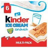 Kinder Glace Sandwich 6 x 60 ml