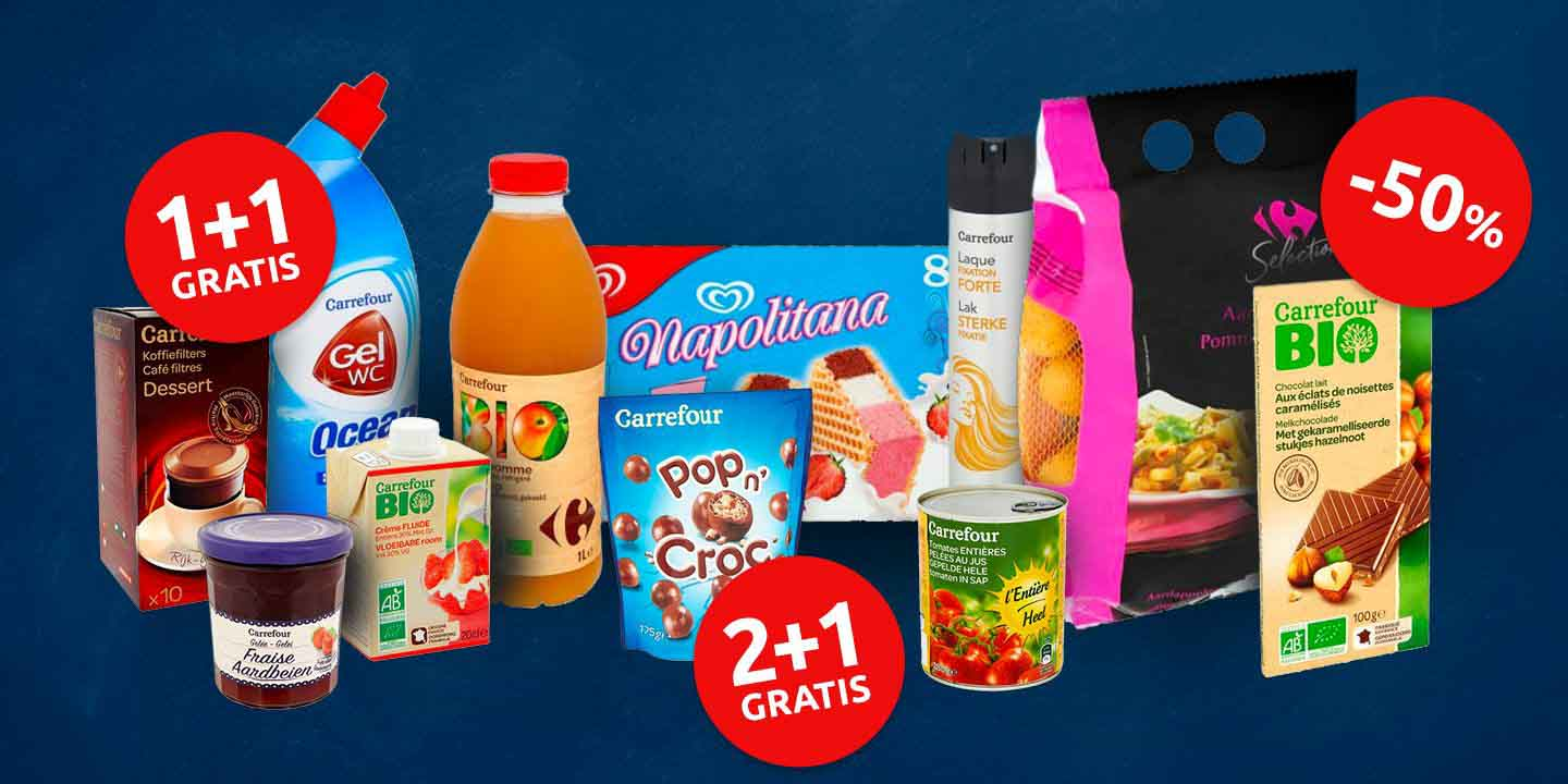 Carrefour Site Homepage